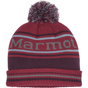 Marmot Retro Gorro Pompón, brick/fig